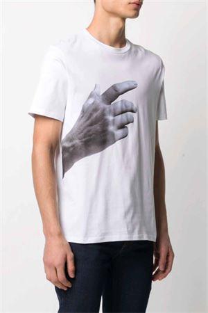 The Other Hand T-shirt NEIL BARRETT | 8 | PBJT927SQ557S3154