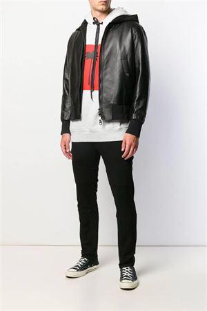 Hooded bomber jacket NEIL BARRETT | -276790253 | PBPE575CM703C01