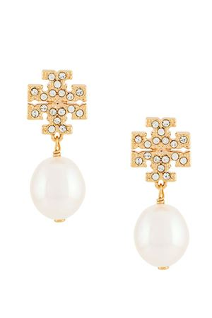 Drop earrings with logo TORY BURCH | 48 | 60525137