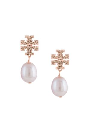 Drop earrings with logo TORY BURCH | 48 | 60525955