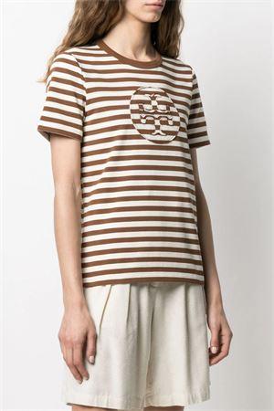 T-shirt con logo TORY BURCH   8   63871229