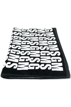 Asciugamano da mare con stampa logo all-over MSGM | 54 | 2440MV01 18406299