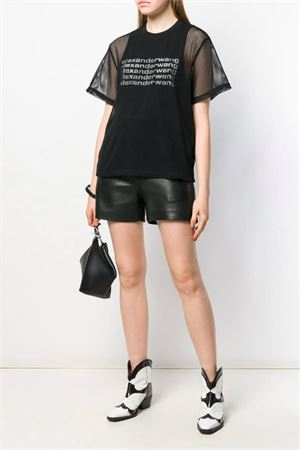T-shirt with logo. ALEXANDER WANG | 8 | 1W491195X3001