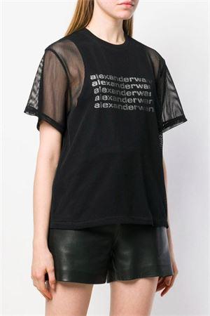 T-shirt with logo. ALEXANDER WANG | 8 | 1W491195X3001