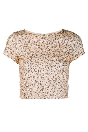 Crop Top con paillettes ALICE & OLIVIA | 40 | CG902E09005ZA81