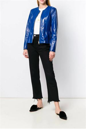 Blue leather jacket Blugirl | 5032239 | 7253112