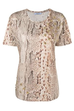 Python patterned t-shirt Blumarine | 8 | 15402106