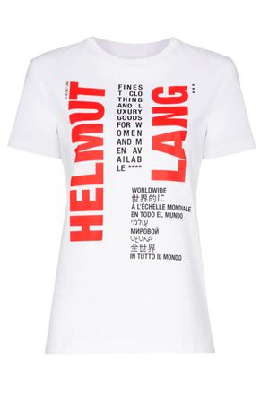 T-shirt with contrasting logo. HELMUT LANG | 8 | J01KW508VO2
