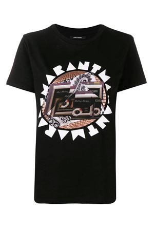 t-shirt with print ISABEL MARANT | 8 | 19ETS0619-19E038I01BK