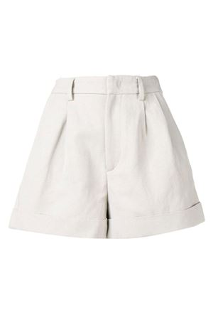 Cotton and linen shorts ISABEL MARANT | 30 | 19PSH0206 19P011I20CK