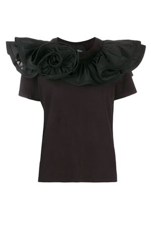 Rosette T-shirt with ruffles. MARC JACOBS | 8 | W4190174001
