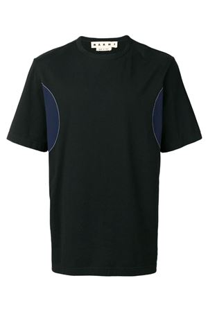 T-shirt with side applications MARNI | 8 | HUMU0027Q0S2276300N99