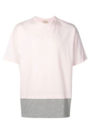 T-shirt with side strap MARNI | 8 | HUMU0034QSS22763Y4170