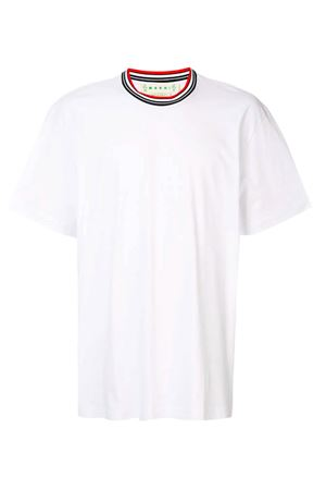 T-shirt with multicolor crew neck MARNI | 8 | HUMU0044L0S2276300W01