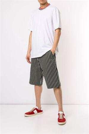 T-shirt con girocollo multicolor MARNI | 8 | HUMU0044L0S2276300W01