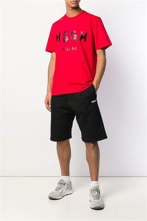 Sport shorts with logo. MSGM | 5 | 2640MB61 19529999