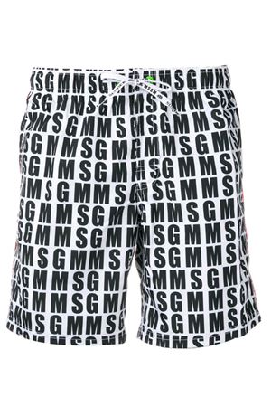 Swimsuit with SUNDEK X MSGM logo. MSGM | 85 | 2640MF201S 19522101