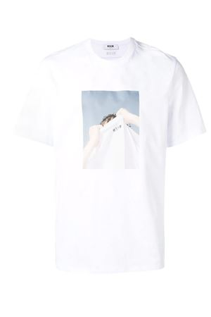T-shirt with print. MSGM | 8 | 2640MM169 19529801