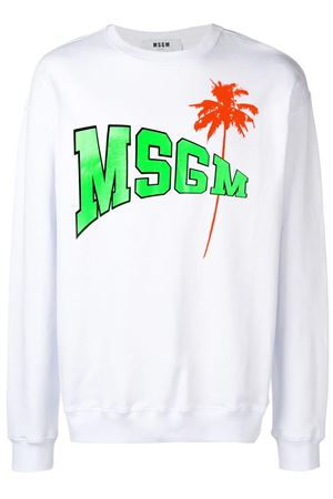Sweatshirt with logo. MSGM | -108764232 | 2640MM193 19529901