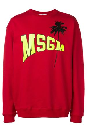 Sweatshirt with logo. MSGM | -108764232 | 2640MM193 19529918