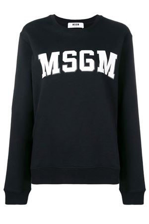 Sweatshirt with graphic logo MSGM | -108764232 | 2641MDM16319529999