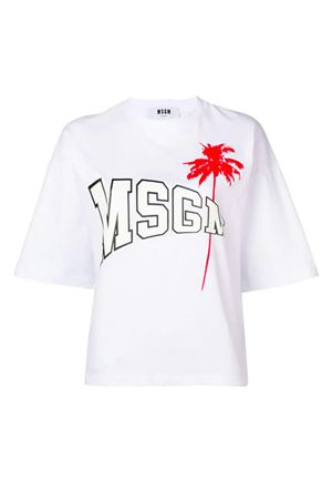 T-shirt with College logo MSGM | 8 | 2641MDM16419529801