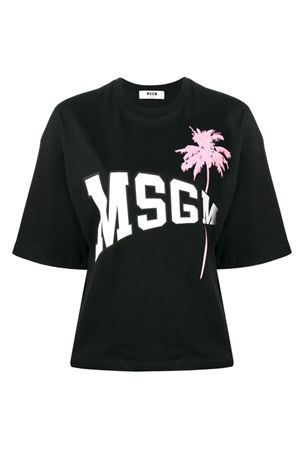 T-shirt with College logo MSGM | 8 | 2641MDM16419529899
