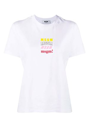 Multy Logo T-shirt MSGM | 8 | 2641MDM16819529801