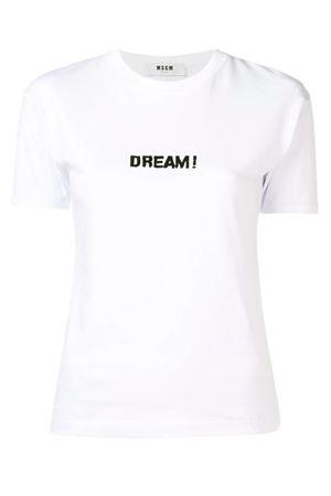 T-shirt con stampa MSGM | 8 | 2642MDM185X 19529801
