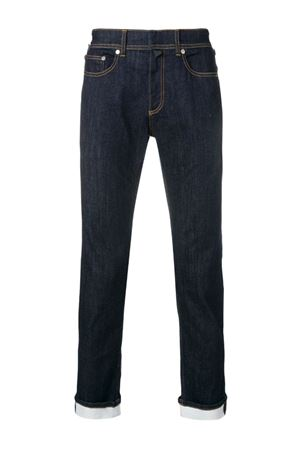 Slim jeans with turn-ups NEIL BARRETT | 24 | PBDE238SH L811T1842