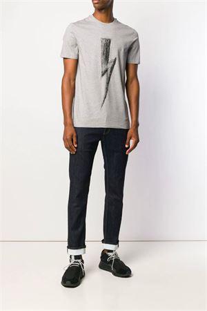 Jeans slim con risvolti NEIL BARRETT | 24 | PBDE238SH L811T1842