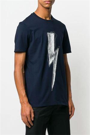 T-shirt Bolt con stampa. NEIL BARRETT | 8 | PBJT477B L534S061