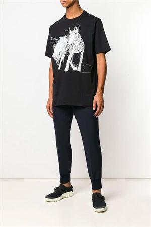 T-shirt con stampa. NEIL BARRETT | 8 | PBJT496P L528S524