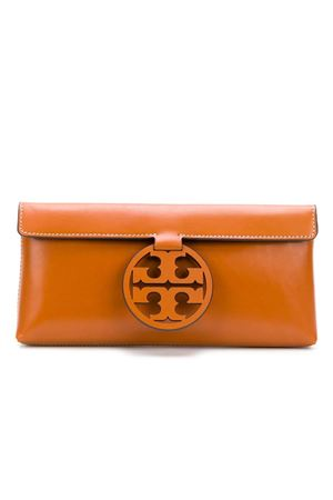 Clutch with logo TORY BURCH | 10000007 | 46988268