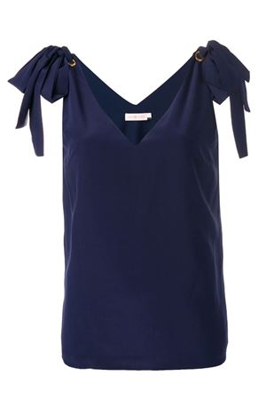 Silk top with bows TORY BURCH | 40 | 51823405