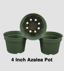 4 inch Azalea Pot - Each or Case