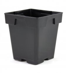 5.5 inch Square Jumbo Dillon Greenhouse Pots - Each or Case