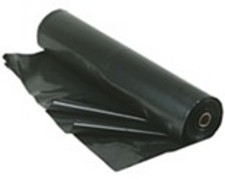 6mil Black Polyethylene Plastic Film