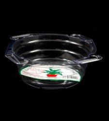 Clear Vinyl Hanging Basket Drip Pan - Curtis Wagner
