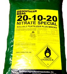 20-10-20 Nitrate Special Soluble Fertilizer Plus Minors 25lb Bag