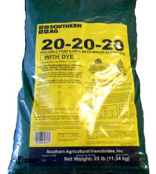 20-20-20 Plant Starter Soluble Fertilizer 25lb Bag