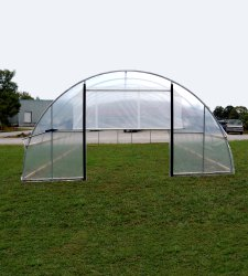 Roll-Up  Greenhouse Door