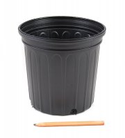 2 Gallon Black Trade Pot