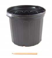 3 Gallon Black Pot