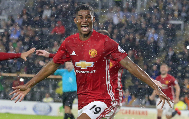 In form Rashford