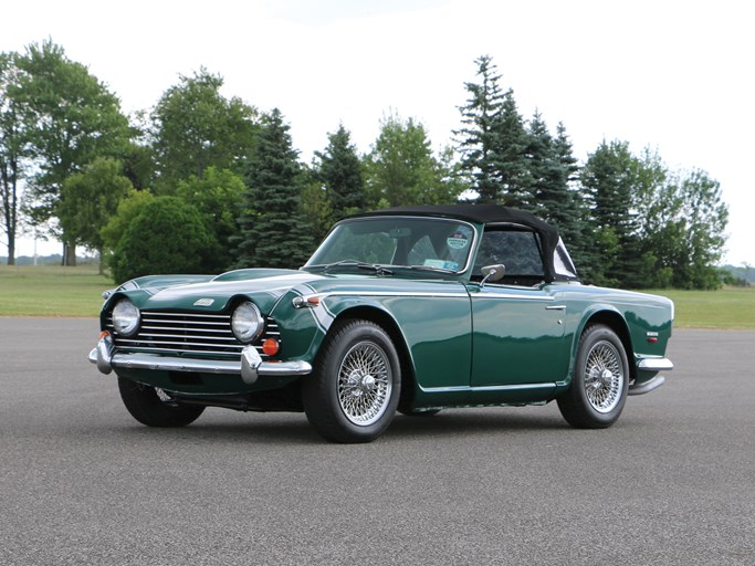 1968 Triumph TR5 Values | Hagerty Valuation Tool®