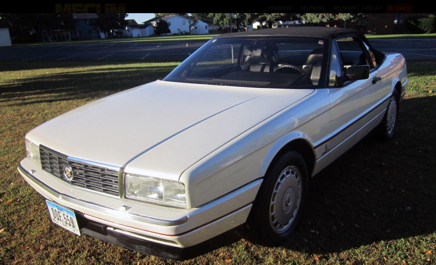 1990 Cadillac Allante Values Hagerty Valuation Tool