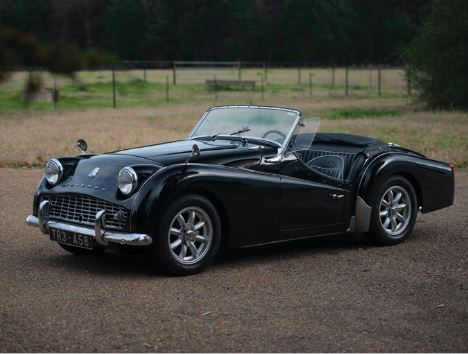 1959 Triumph Tr3a Values Hagerty Valuation Tool