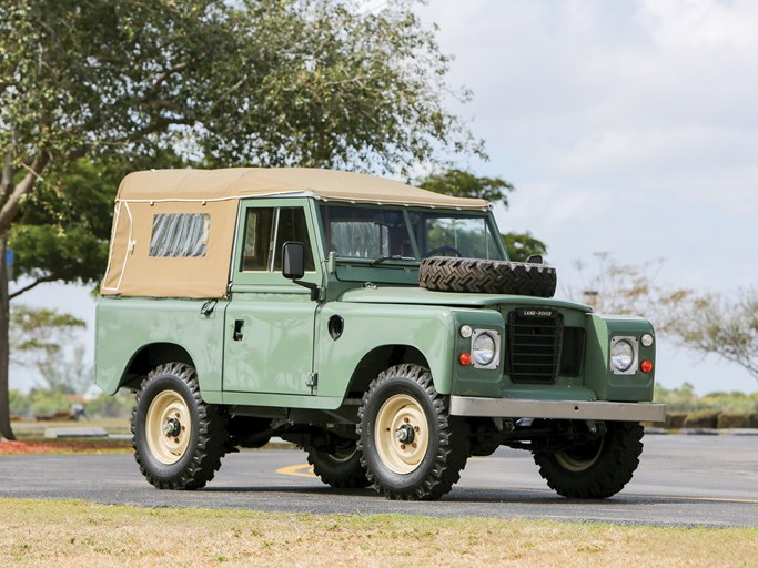 1974 Land Rover Series Iii 88 Values Hagerty Valuation Tool