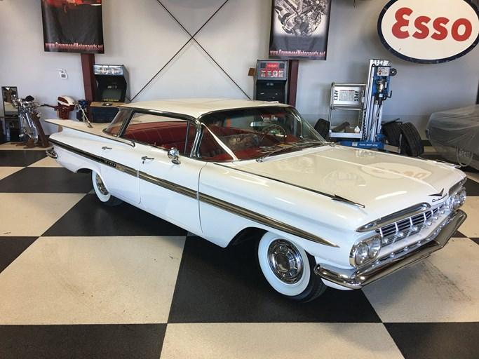 Ft. Lauderdale 2018_1070_Chevrolet_1959_Impala_Sport Sedan_F59N128095_Overall 1959 chevrolet impala values hagerty valuation tool®